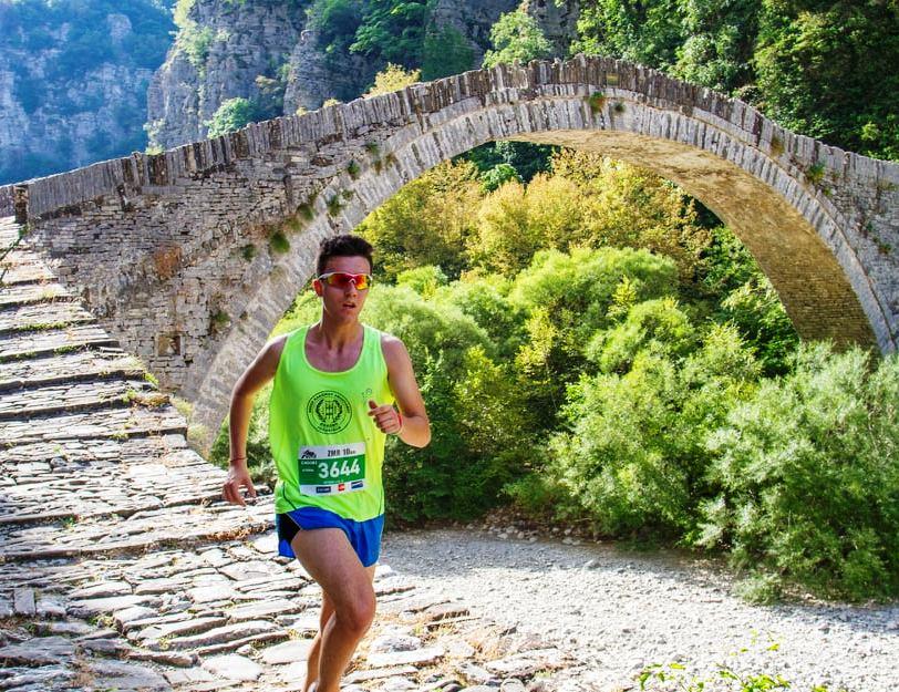 Η ΕΚΑ στο Ζαγόρι για το Zagori Mountain Running19 με τον Κώστα Λαγό.