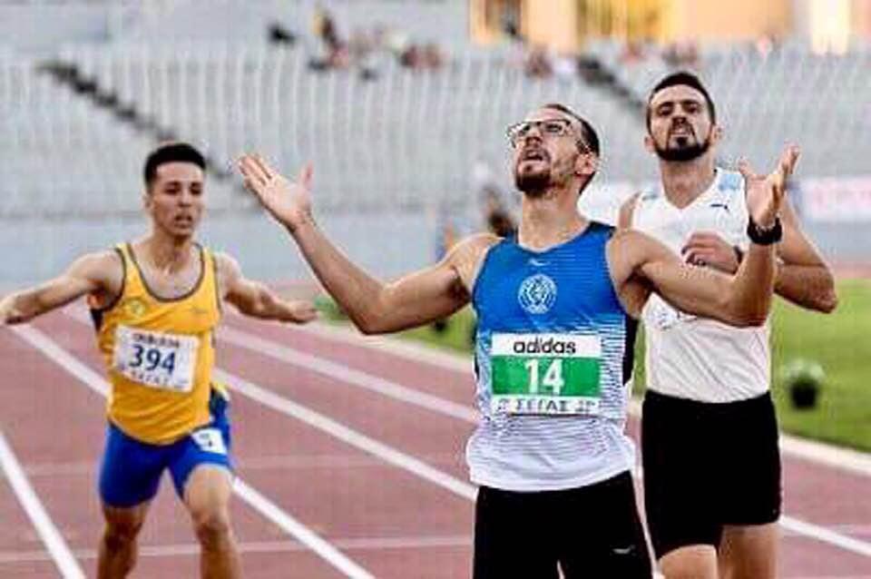 Για τρίτη συνεχόμενη χρονιά πρωταθλητής στα 400μ ο Μιχάλης Παππάς και η μαζί του όλη η ΕΚΑ Δωδώνη.